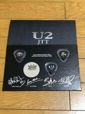 JAPAN U2 JOSHUA TREE TOUR 2019 SS seat Benefits Set Guiter Pick Member signed