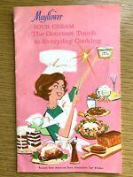 1950s MAYFLOWER SOUR CREAM vintage mid-century modern COOK BOOK 51 recipes RETRO