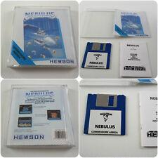Nebulus un Hewson jeu pour le COMMODORE AMIGA Ordinateur testé et de travail