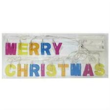 LED Lichterkette Merry Christmas, batteriebetr.