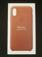 Genuine Apple Leather Case For iPhone X Xs Saddle Brown MRWP2ZM/A