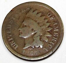 1866 United States Indian Head Cent / Penny - G Good Condition