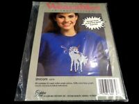 Golden Bee Wearables to Cross Stitch Kit 60274 Unicorn For Your Shirt Horse Pony