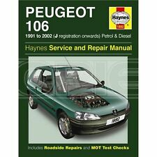 Haynes Peugeot 106 Petrol & Diesel (91 - 04) J to 53 Reg - Car Manual (1882)