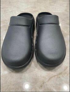OOFOS Women's Size 9 Men's 7 Orthopedic Slides Clog Shoe Charcoal Grey