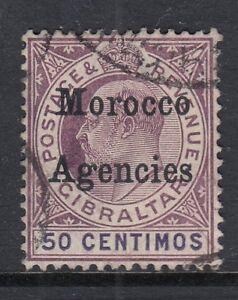 Morocco Agencies 1905 50c MCA WMK good to fine used SG28, Cat.£65