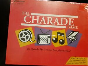 The Charade Game Pressman New In Box Shrink Wrapped Age 10-Adult 1992