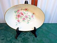 Exquisite Mid-Century Lenox Peachtree Decorative Oval Vegetable Bowl