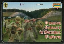 Strelets 1/72 (20mm) WWI Russian Infantry In Summer Uniforms
