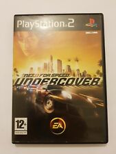 Need for Speed UNDERCOVER  ps2 pal España y completo