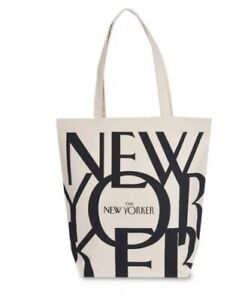 NEW SEALED The New Yorker Magazine Canvas Tote Bag