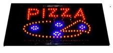 Pizza reklame LED Schild Leuchtschild LEUCHTREKLAME Werbung Pizzaria restaurant