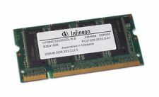 20 UNIDADES 256MB PC2700 DDR 333 CL2.5 SO-DIMM