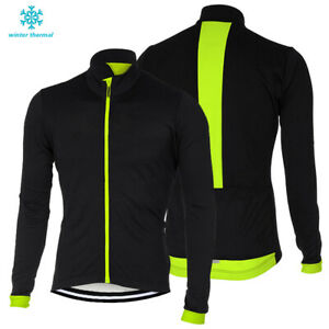 Thermal Pro Mens Winter Cycling Jersey Riding Tops Jacket Clothing S~4XL Outfits