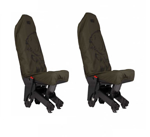 Nash Car Seat Covers Pair Green T3699 New