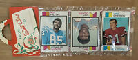 VINTAGE 1973 TOPPS NFL FOOTBALL CARDS CHRISTMAS HOLIDAY SEALED RACK PACK