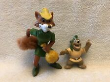 Robin Hood Fox Figure and Gummi Bear (Both Figures as shown)