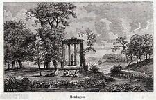 MONDRAGONE:Resti dell'Antica Sinuessa.Terra di Lavoro.Caserta.Stampa Antica.1861