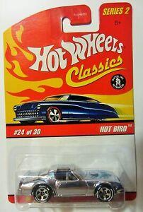 Hot Wheels Classics Series 2  #24 Hot Bird - Silver