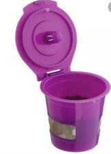 Mochamate Refillable reusable Purple Filter cup Works w/ KEURIG K-CUP