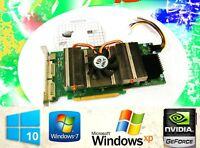 WINDOWS 10 Game Dual Monitor Video Card. NVIDIA GeForce 9600 GSO