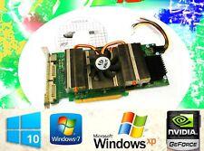 WINDOWS 10 Game Dual Monitor Video Card. NVIDIA GeForce 9600 GSO