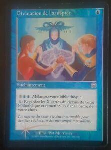 Divination de l'aruspice VF PREMIUM / FOIL - French Soothsaying - Magic mtg