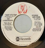 The Masqueraders - Baby It's You / Listen 45 ABC 1975 Soul Promo VG+