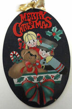 Hand Painted Oval Decorative Plaques & Signs