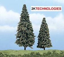 "Woodland Scenics TR1625 2 Pack 2"" - 3"" Premium Conifer Trees Green T48 Post"