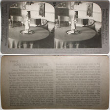 Keystone Stereoview In Goethe's House at Weimar, GERMANY From RARE 1200 Card Set