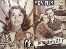 """MON FILM 1953 N 362 """" LA FUGUE DE MONSIEUR PERLE """" ARLETTE POIRIER - NOËL-NOËL"""