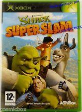 SHREK SUPER SLAM jeu d'aventure et de combats pour console XBOX Microsoft testé