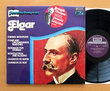 DPA 537/8 ELGAR Favourite Composers Monteux Marriner Boult  2xLP Decca NM/EX
