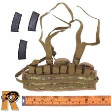 Army ISAF Soldier - Ammo Vest w/ 3 Mags - 1/6 Scale - Crazy Dummy Action Figures