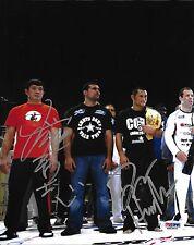 Kazushi Sakuraba & Dan Henderson Signed Pride 8x10 Photo PSA/DNA COA UFC Picture