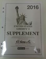 Harris 2016 Liberty US stamp collecting specialized album supplement latest NEW