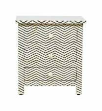 Personalized Bone Inlay Bedside Bedside Cabinet Best Home Decor Furniture