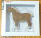 Preiser 47024 Standing Belgian Horse  1/25th Scale Painted / Plastic