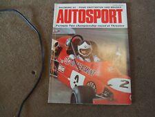 Autosport Magazine 26 April 1973 Safari Rally Singapore GP Rufforth F5000 Brands