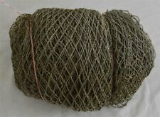 Brown Bulk Authentic Fish Net Hanging Decor Fishing Fishnet Vintage 10 x 30 Feet