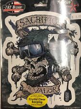 """New Military """"Sacrifice & Valor"""" Sticker / Decal Army Navy Marines Air Force"""