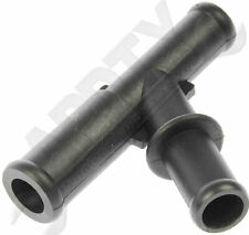 APDTY 911533 Heater Hose TEE 5/8 x 5/8 x 3/4 Fits 96-99 GM Trucks *Check Fitment