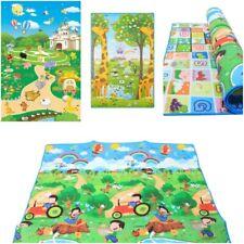 Educational Baby Mat 2 Sided Soft Foam Play Carpet Kids 200X180cm *HIGH QUALITY*