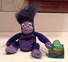 "Young Terk Bean Bag Tarzan Disney Applause NEW 5"" Beanie Gorilla Rosie O'Donnell"