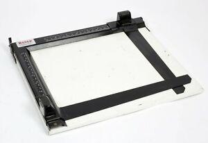 LPL/Bogen 8X10 adjustable print easel darkroom enlarger