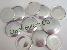 100 Cover Buttons Size 60 (1 1/2 inch) - FLAT BACKS