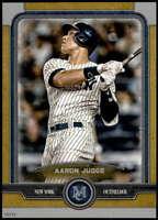 Aaron Judge 2019 Topps Museum 5x7 Gold #60 /10 Yankees