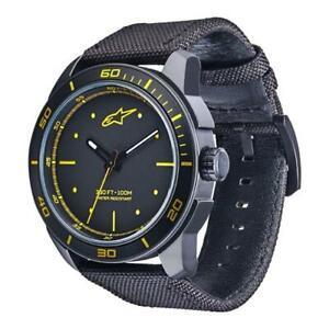 Alpinestars Tech Watch 3H Nylon Strap Black/Yellow