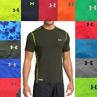 Under Armour UA Men's Heatgear Fitted Fit Active Short Sleeve T Tee Shirt